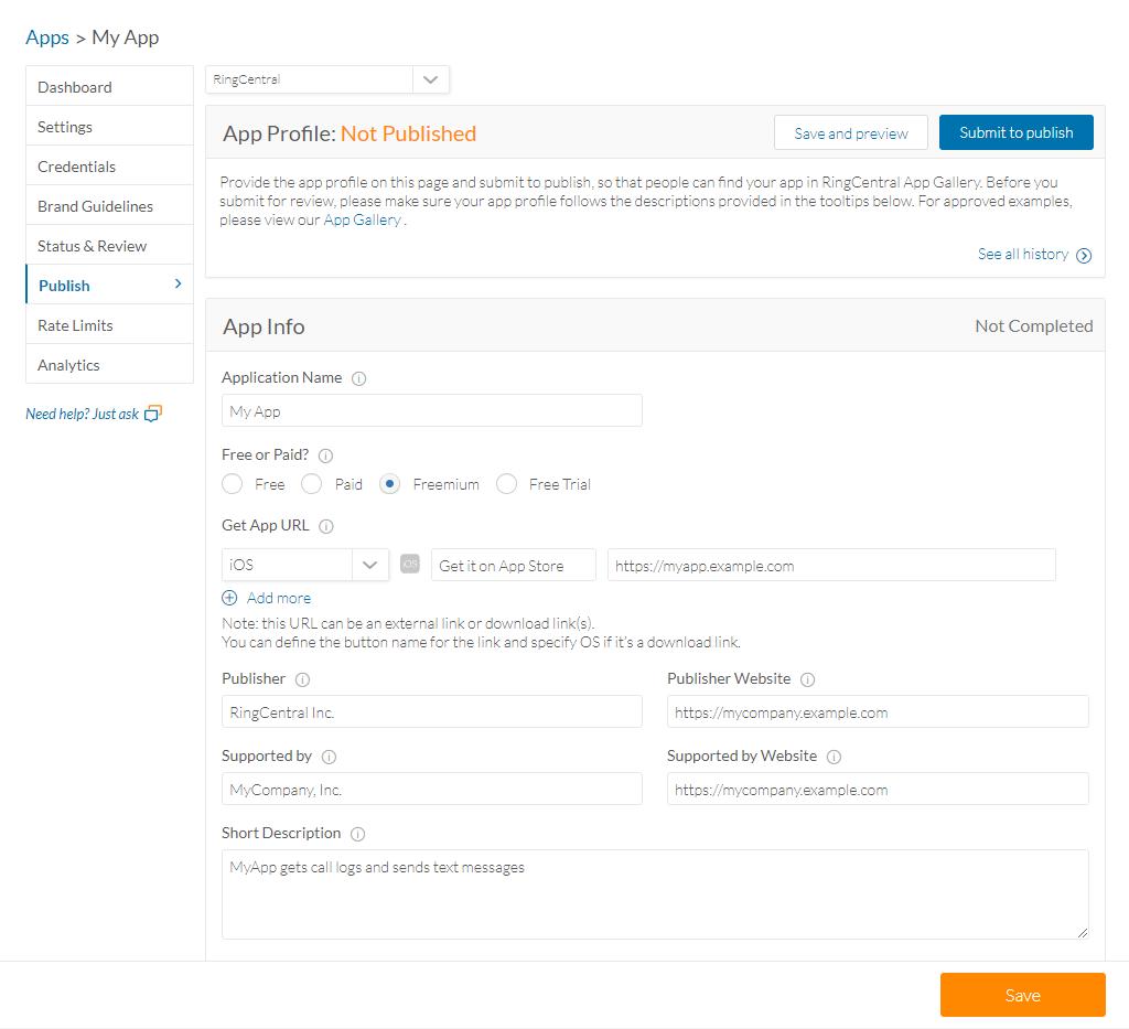 API & Docs - Getting Started